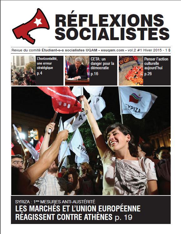 Réflexions socialistes vol.2 #1