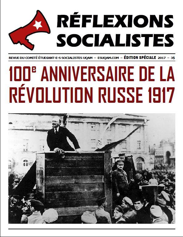 Réflexion socialiste, éd. sp. RR1917