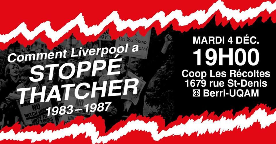 Comment Liverpool a stoppé l'austérité de Thatcher en 1983-87?